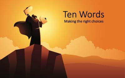Faire les bons choix – 10 paroles