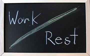 Faire les bons choix – 10 Paroles – Parole n°4 : Travail et repos !