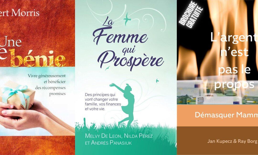 Découvez ces 3 nouveaux livres